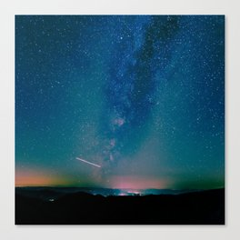 Desert Summer Milky Way Canvas Print