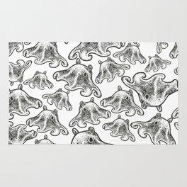 Octopus Print Rug