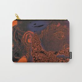 Hipster Neptune - orange Carry-All Pouch
