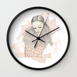Pink Top Wall Clock