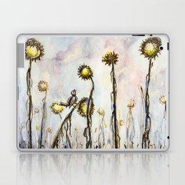 Bird Sings the Sunflower Blues Laptop & iPad Skin