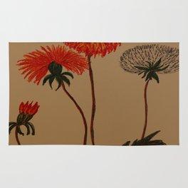 Dandalion Blossoms Rug