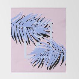 Cali blue blue Throw Blanket