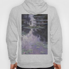 Water Lilies by Claude Monet Hoody