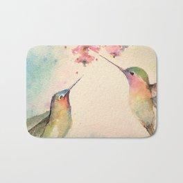 hummingbirds #4 Bath Mat