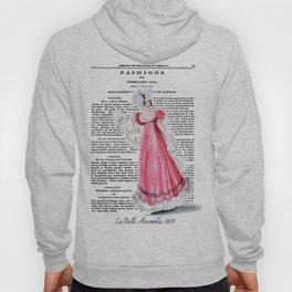 Regency Fashion Plate 1819, La Belle Assemblee Hoody