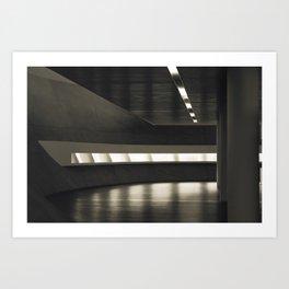 A slice of light Art Print