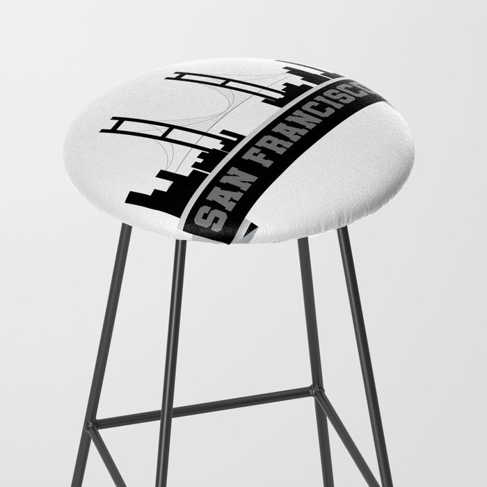 San Francisco For Men Women And Kids Bar Stool By Magnum