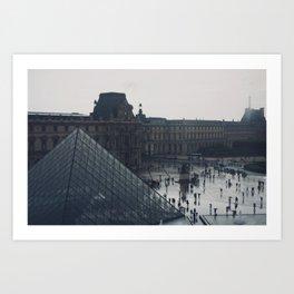 l'après-midi au Louvre (6) Art Print