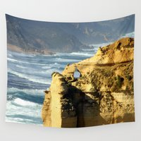 geology Wall Tapestries featuring Key Hole Rock #2 by Chris' Landscape Images & Designs