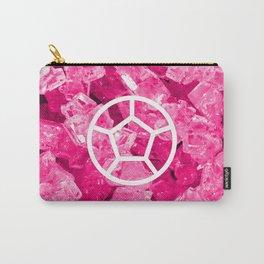 Rose Quartz Candy Gem Carry-All Pouch