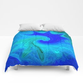 Abstract Mandala 260 Comforters