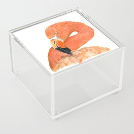 Breezy Flamingo by Teresa Thompson Acrylic Box