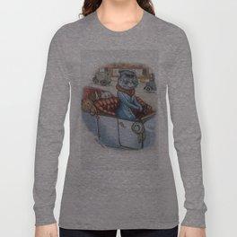 Louis Wain - The Cat Chauffeur Long Sleeve T-shirt