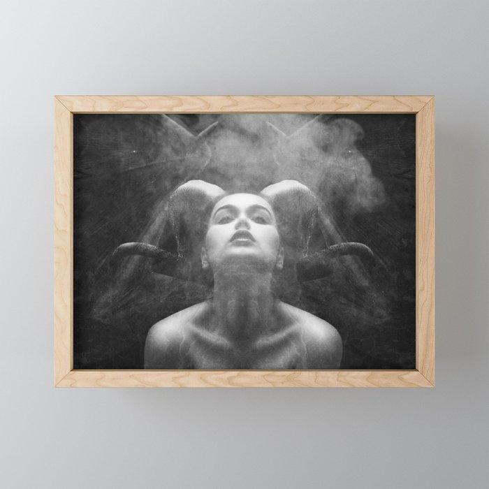 Lust Framed Mini Art Print