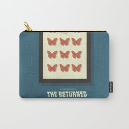 The Returned, french tv series, minimalist, alternative poster, Canal+ Carry-All Pouch