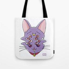 Trippy Luna Tote Bag