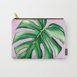 Palm Tree Leaf Art Print Carry-All Pouch