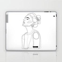 B Yellow Lip Laptop & iPad Skin
