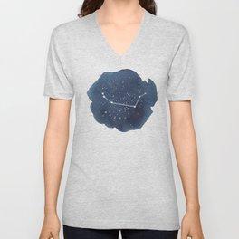 aries constellation zodiac Unisex V-Neck