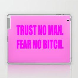 Trust No Man Laptop & iPad Skin