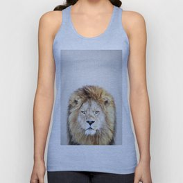 Lion 2 - Colorful Unisex Tank Top