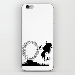 The Letter O iPhone Skin