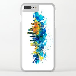 Los Angeles Skyline Clear iPhone Case
