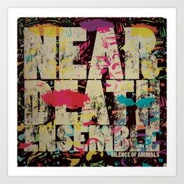 The Near Death Ensemble: the album Art Print