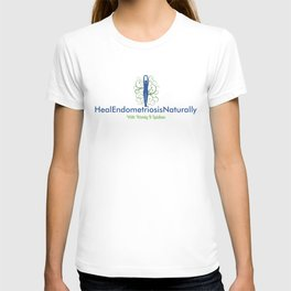 Heal Endometriosis Naturally With Wendy K Laidlaw T-shirt
