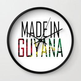Made In Guyana Wall Clock