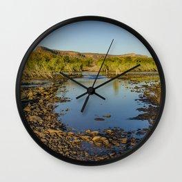 Pentecost River Crossing Wall Clock