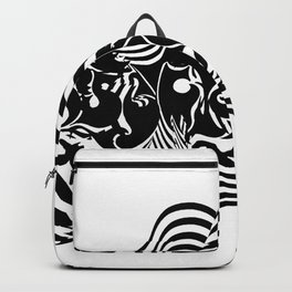 Psycho wave clear Backpack