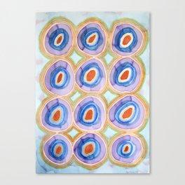 Twelve United Festive Balls Canvas Print