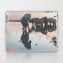 Camargue Horses I ... Laptop & iPad Skin