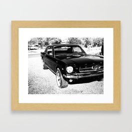 1965 MUSTANG Framed Art Print