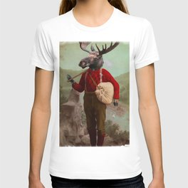 Lumberjack Marvin Moose T-shirt