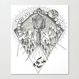 """UFO - Bacteriophage T4"" Canvas Print"