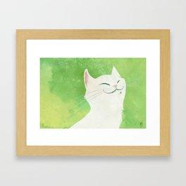I'm a cat Framed Art Print