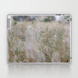 Tall wild grass growing in a meadow Laptop & iPad Skin