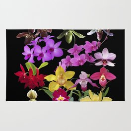 Orchids Galore Rug