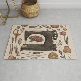 Sewing Collection Rug