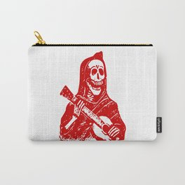 Grim Reaper With Guitar Carry-All Pouch