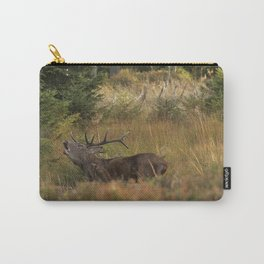 Red deer, rutting season Carry-All Pouch