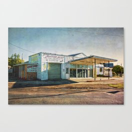 Cootamundra Garage Canvas Print