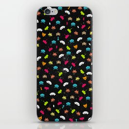 Space Invaders iPhone Skin