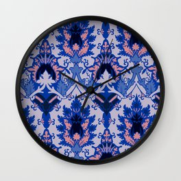 Gothic floral Wall Clock