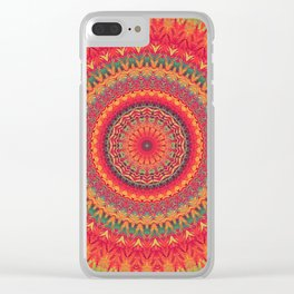 Mandala 288 Clear iPhone Case