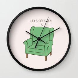 Cozy chair Wall Clock