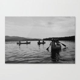 Canoe to Fish Creek Canvas Print